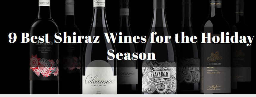 9 Best Shiraz Wines for the Holiday Season