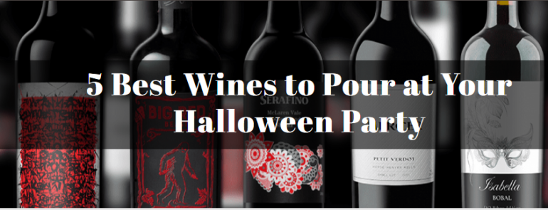5 Best Wines to Pour at Your Halloween Party